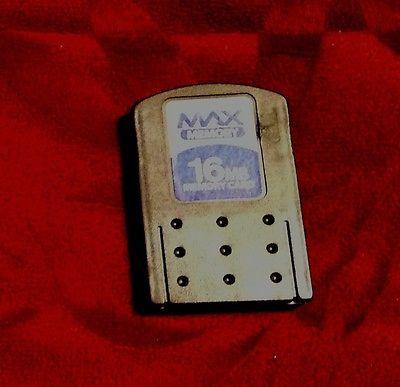 Max Memory PS2 16MB Memory Card Works Good!