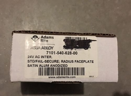 ADAMS RITE 7100-540-628 ELECTRIC STRIKE  FOR GLASS STOREFRONT 24VAC 12VDC