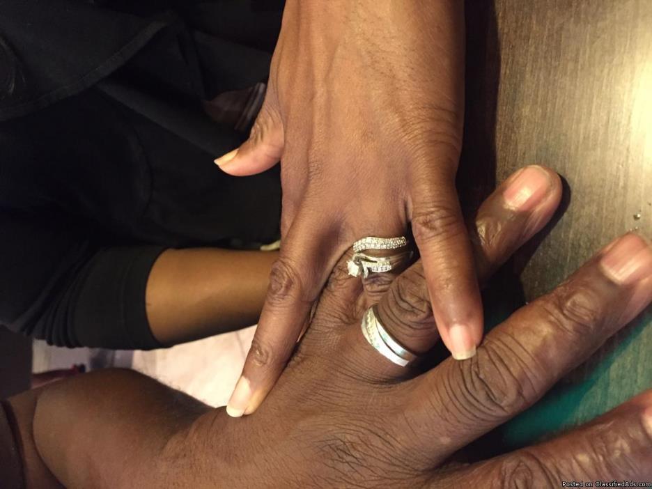 LOST WEDDING RING SET