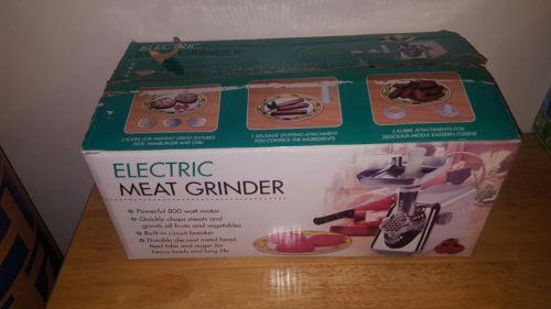 Super Electric Meat Grinder!!