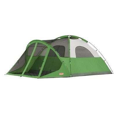 Coleman 2000007825 Evanston 14' x 10' 6 Person Screened Tent
