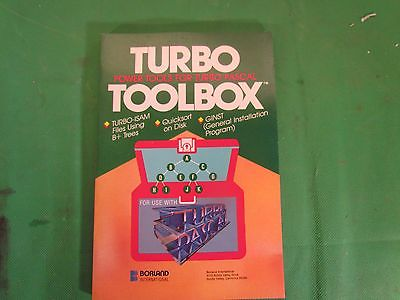 Turbo Toolbox Power Tools for Turbo Pascal