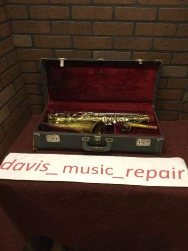 Buescher Alto Saxophone (stock#630GA)