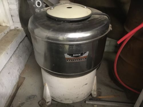 Industrial Bock Centrifugal Extractor