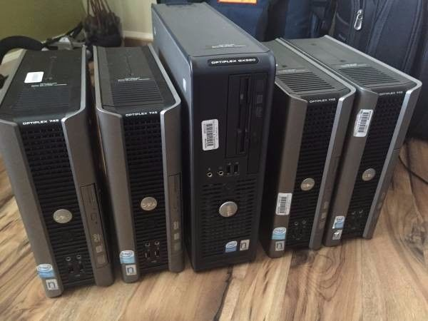 Lot of Dell Optiplex 745s