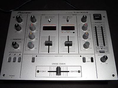 Vintage Pioneer DJM-300-S DJ Mixer Tested Good!