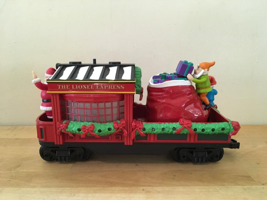 LIONEL Holiday Tradition Express #7-11102 G Scale Train - SANTA ELF CABOOSE