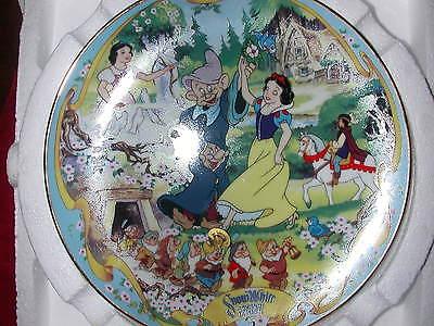 Snow White Musical Seven Dwarfs Mickey Mouse 3 Disney Plates Birthday Party