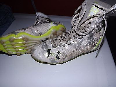 Lacrosse Cleats Size 9 - Under Armour Highlight MC