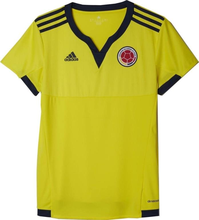 NWT Adidas Colombia FCF Women World Cup Home Football Soccer M Jersey S07214 $75