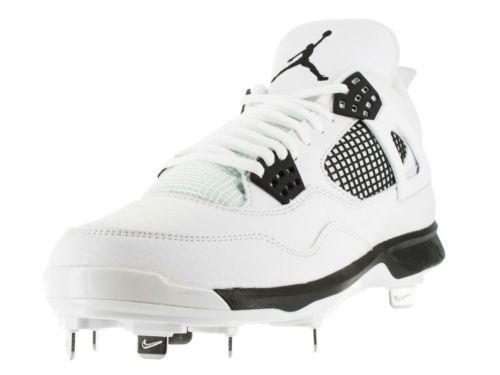 Jordan 4 Mens Size 8.5 Baseball Cleats White