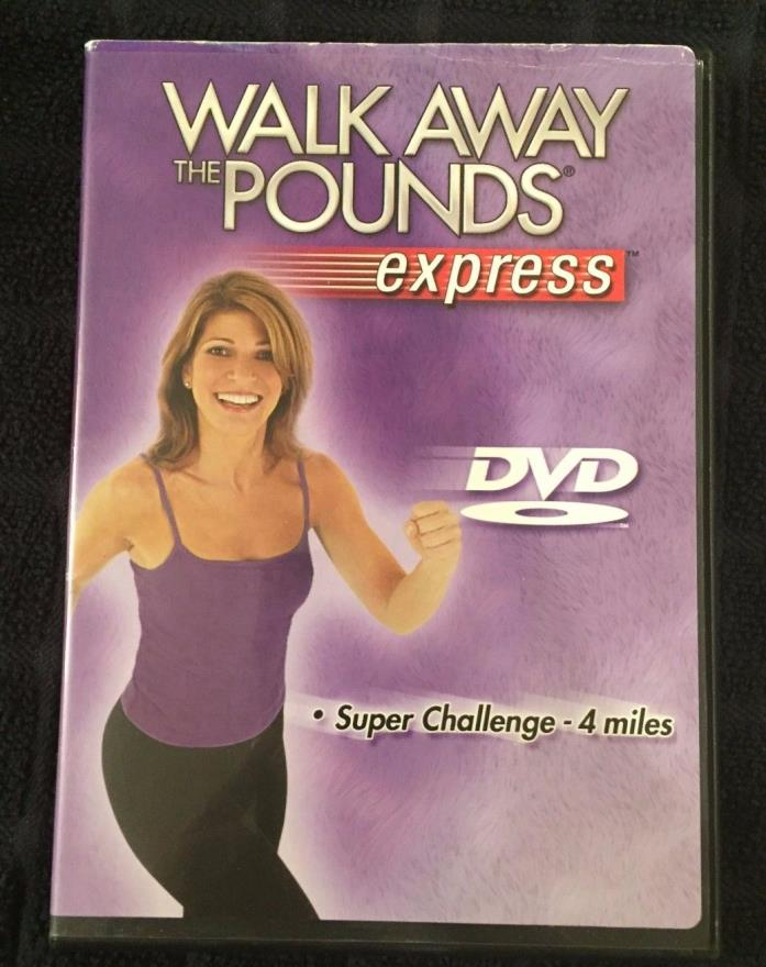 Leslie Sansone Walk away the Pounds Express DVD