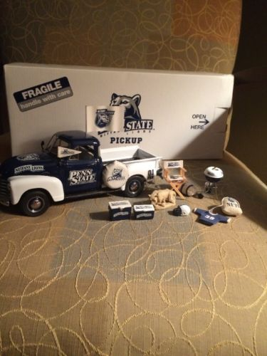 Danbury Mint Penn State Nittany Lions 1953 Chevy Pickup Tailgater In Box