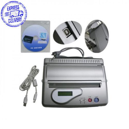 Pro Tattoo Transfer Copier Printer Machine Thermal Stencil Paper Maker USB US!