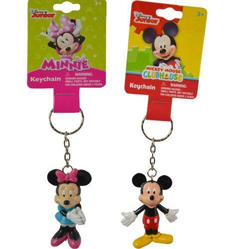Disney Junior Mickey Mouse & Minnie Mouse Clubhouse KeyChain