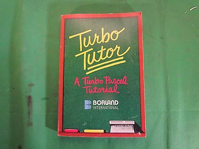Turbo Tutor - A Turbo Pascal Tutorial  1985  HISTORIC