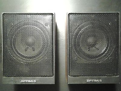 Optimus XTS 25 Mid Range Shelf Speaker Set