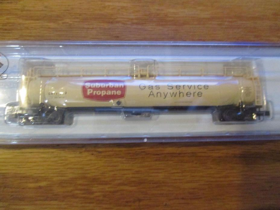 37031 Atlas N Scale 33K Gallon Tank Car Suburban Propane 1309 w Free ship!