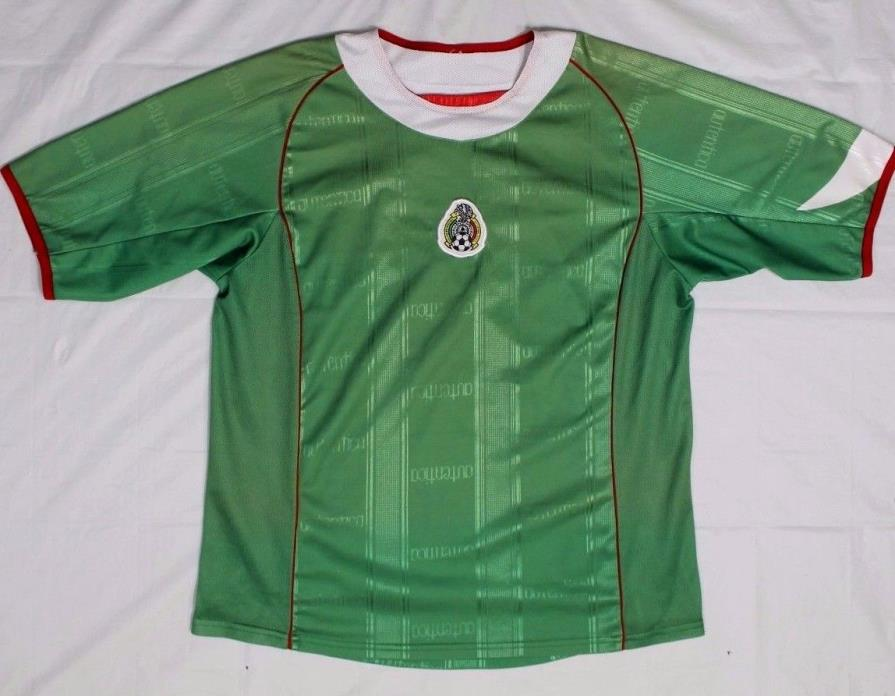 Mexico Football Jersey - Authentic Mexican Soccer Polyester Shirt #11 - Mens XL