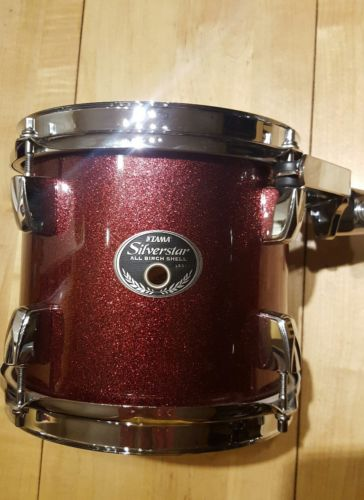 8x7 Tama Silverstar tom (drum) red sparkle