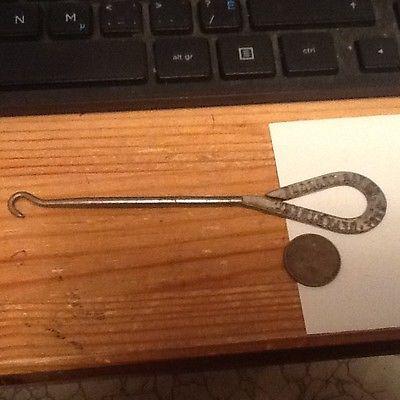 Antique Shoe Button Hook HUDSONS BAY CO. SHOES ADVERTISING lot 28a