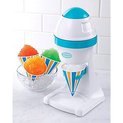 Nostalgia ISM1000 Electric Shaved Ice amp; Snow Cone Maker