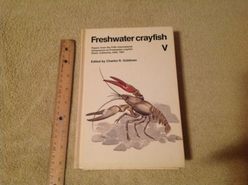 Freshwater Crayfish Hardcover 1983 Raising Crawfish