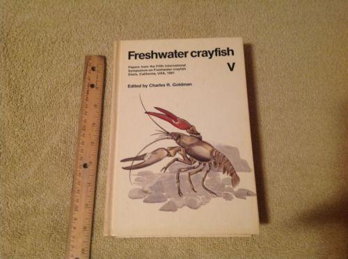 Freshwater Crayfish Hardcover 1983 Raising Crawfish