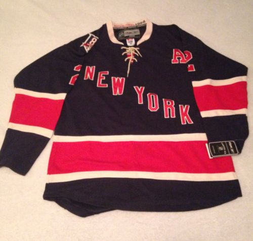 New York Rangers Brian Leetch Reebok Jersey 85th Anniversary Size 52 NWT