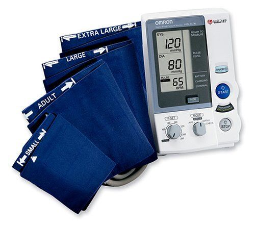 Omron HEM 907XL IntelliSense Digital Blood Pressure Monitor