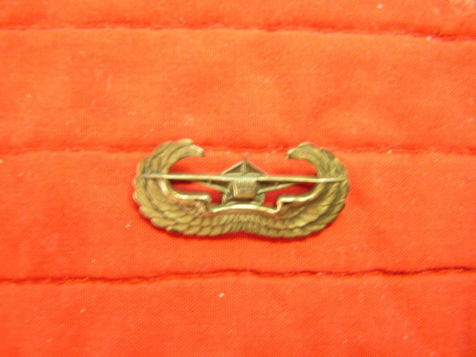 GLIDER TROOPS BADGE PIN BACK WWII VINTAGE