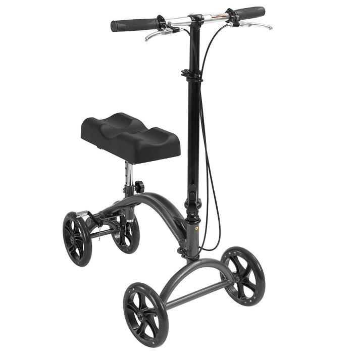 Drive Medical DV8 Aluminum Steerable Knee Walker Crutch Alternative (OpenBox)