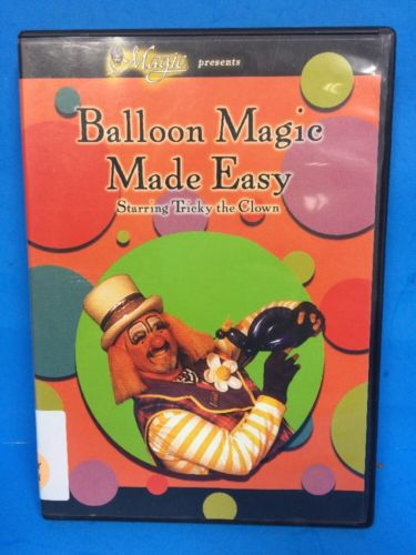 Dvd Balloon Magic Made Easy NE