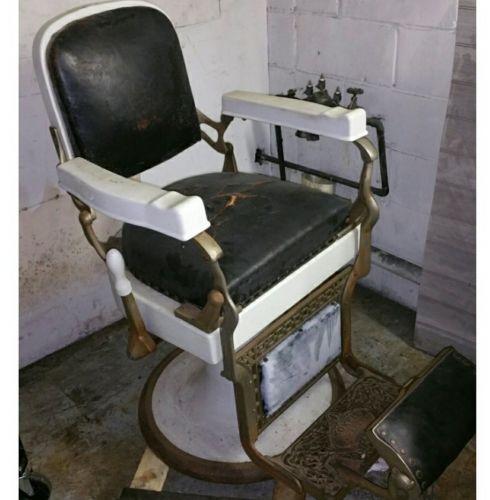 Koken antique barber chair