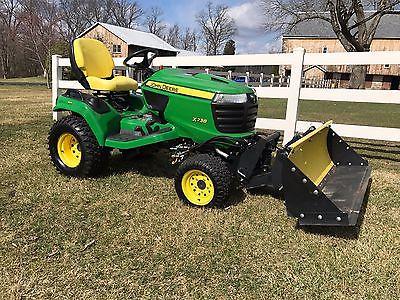 2013 John Deere X738 Tractor 60
