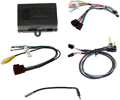 Crux SWRGM49 Radio Replacement w/SWC Retention For GM Lan 29 Bit Vehicles