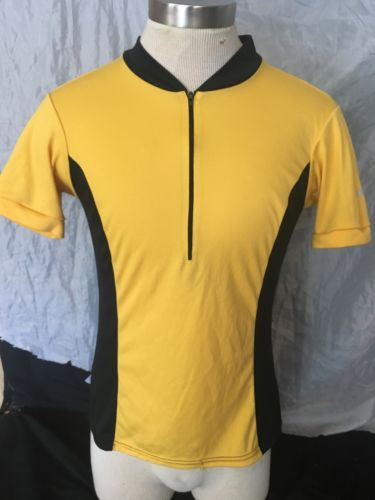 Trek USA Cycling Biking Shirt Jersey Size Large  Made In USA with Pocket