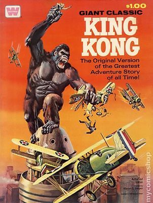 King Kong GN (1968 Movie Comics Whitman Treasury-Sized) #1A-1ST FN