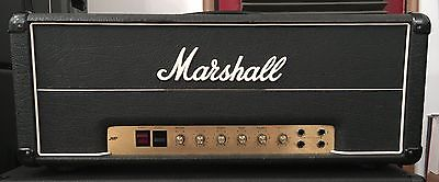 1977 Marshall JMP 50 Watt Lead Non Master Volume Head. Good Plus Condition