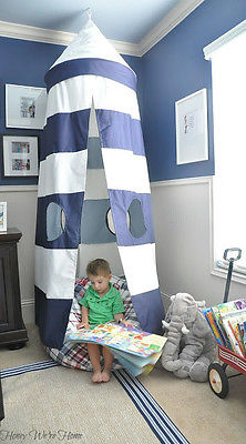 Pottery Barn Kids Rugby Play Tent Canopy New
