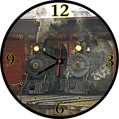 East Broad Top Roundhouse Round Clock
