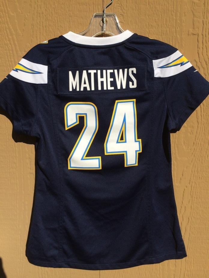 NFL JERSEY SAN DIEGO CHARGERS MATHEWS 24 NIKE YOUTH S