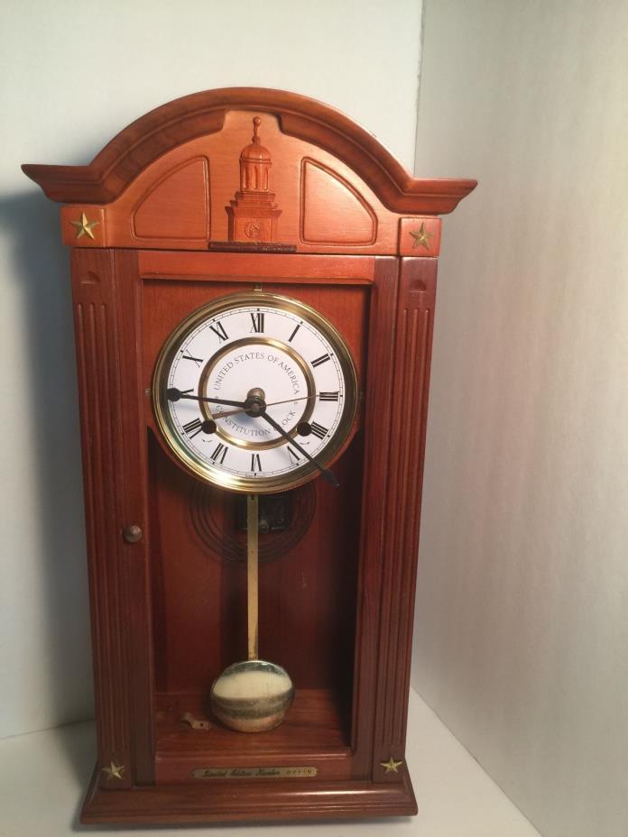 United States Consititution clock