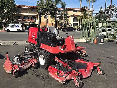 2010 Toro 4000D 4WD Diesel Ride On Lawn Mower 11' Cut Ex-City, 1103 Hours