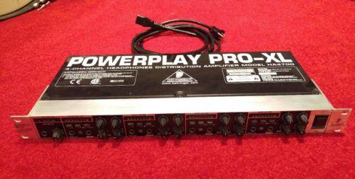 Behringer Powerplay Pro-XL HA4700 4-Channel High-Power Headphone Amplifier