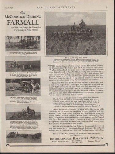 1928 INTERNATIONAL HARVESTER MCCORMICK FARMALL TRACTOR 10281