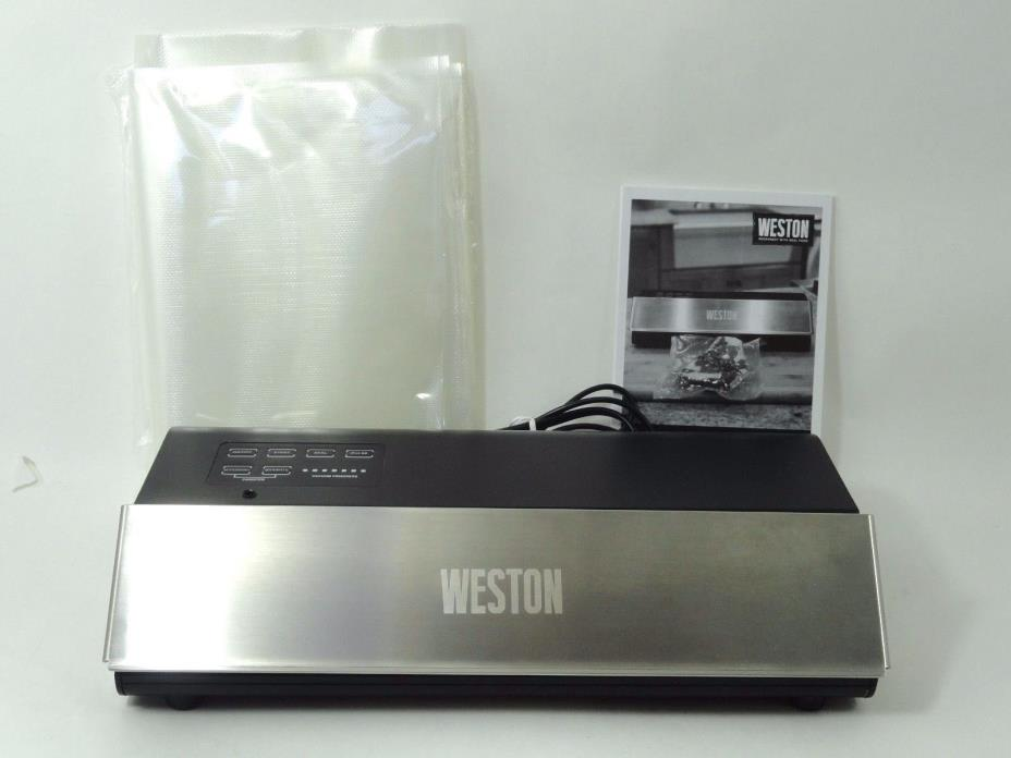 Weston 65-0501-W Professional Advantage Vacuum Sealer, 11-inch, Silver