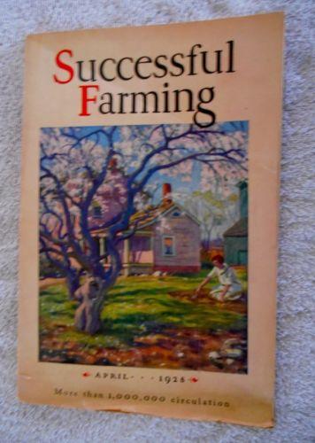 1928 April Successful Farming Magazine Vintage Advertisements Fun Reading