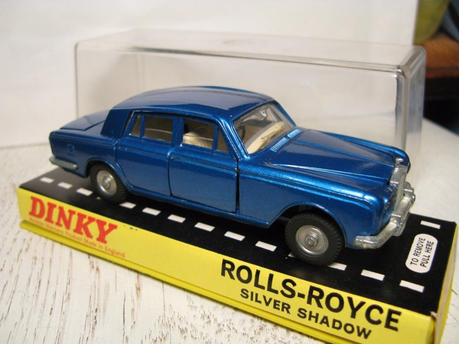 Vintage 1:43 Dinky Toys Mecanno Rolls Royce Silver Shadow near mint in box NMIB