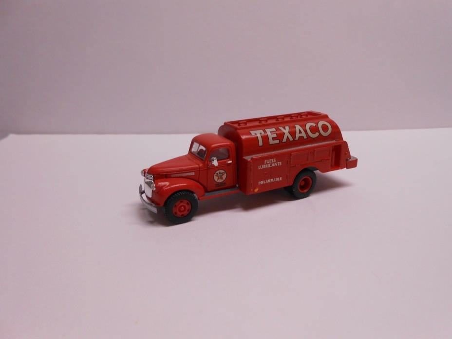 HO Scale 1/87 CWM Classic Metal Works 41 46 Chevy Texaco Tanker Gas Truck Nice!!